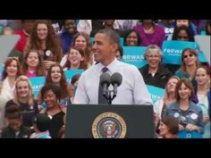 """441 The 2012 Election by the Numbers: Friday, Oct. 19    Barack Obama — President Obama in Fairfax, Virginia: """"Romnesia"""""""