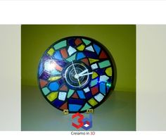 CLOCK FROM OLD CD