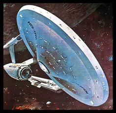 The Enterprise by John Berkey