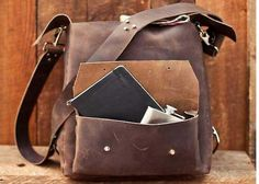 Colson Keane Leather Rucksack from Bourbon & Boots