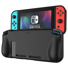 JETech Protective Case Cover with Shock-Absorption and Anti-Scratch Design  for Nintendo Switch (Black) Review 49602f3442