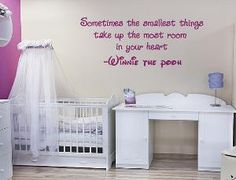 there will be winnie the pooh quotes on my kids wall, probably not in disney script though