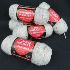BABY PRINT #345 Red Heart Super Saver 5 oz acrylic yarn 244 yards