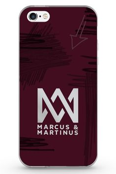 Marcus and Martinus cover for phones with a M&M logo on the back. Show that you are a MMer and buy the mobile phone cover from the online store. Samsung Cases, Phone Cases, Mobile Covers, Iphone, Logos, Stuff To Buy, Martinis, Twins, Backgrounds