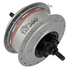 wow. this is a nuvinci gear hub. pretty guly piece of kit, but it gives inifinite gear ratios within a set range (infinite range would be too cool!). this bad boy is also significantly cheaper than a rohloff