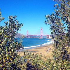 The 15 Most Beautiful Spots In San Francisco #refinery29 http://www.refinery29.com/outdoor-spaces-san-francisco#slide-3 Baker BeachAsk any S.F.er where to find the best view of the Golden Gate Bridge, and we'll bet they'll say Baker Beach. This serene spot is also dog-friendly, which is good news for anyone who has a four-legged friend at home. Tip: If you're going to explore the northern area of ...