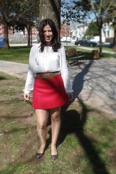 My outfits #4 (red and gold)