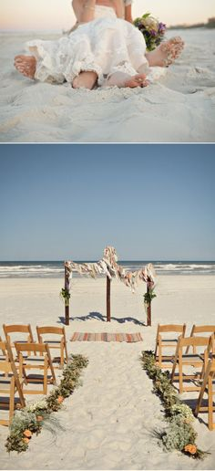 St. Augustine Wedding by Dorothy Gautreaux Photography | Style Me Pretty