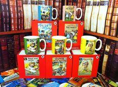 Kim's Bookshop - Penguin Mugs Penguin Mug, Ladybird Books, Book Design, Penguins, Mugs, Tableware, Gifts, Vintage, Collection