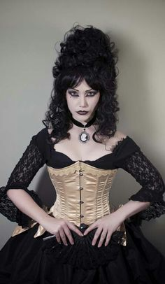 Lady Amaranth and delicacy underbust Gothic Beauty Fashion Burlesque Corset, Overbust Corset, Gothic Fashion, Fashion Beauty, Steampunk Fashion, Halloween Hair, Halloween Festival, Halloween Stuff, Boned Corsets