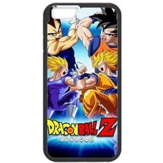 """LeonardCustom Protective Hard Rubber Coated Phone Case Cover for iPhone 6 4.7"""", Dragon Ball Z -LCI6U223 -- Want additional info? Click on the image. (This is an affiliate link) #CasesHolstersClips"""