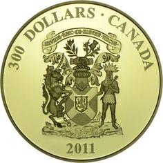 300 Dollar Gold Wappen - Nova Scotia PP