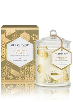 Glasshouse Christmas Cheer Candle