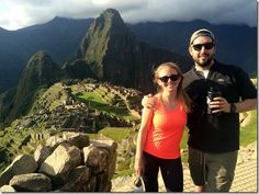 Machu Picchu... it seriously looks so stunning!  This post includes a lot of great detail about her trip, how to prepare to hike the Inca Trail, and so much more.