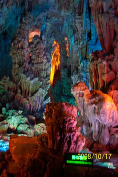 China's Reed Flute Cave