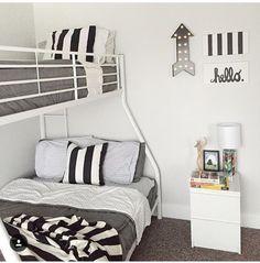 Bunk bed bedding! Zips up easily.