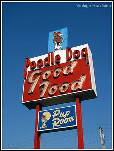 The Poodle Dog - Fife, WA.    Since 1933! My parents danced to the big band leaders here during the '40s. I live down the street from there now.