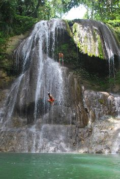 Have a Blast in San Sebastian Jumping from the Gozalandia Waterfall, Puerto Rico - Tiplr Puerto Rico Island, Puerto Rico Trip, San Juan Puerto Rico, Rio Grande Puerto Rico, Isabela Puerto Rico, Vacation Places, Dream Vacations, Vacation Spots, Places To Travel