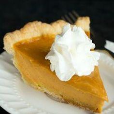 Pumpkin Pie via @browneyedbaker