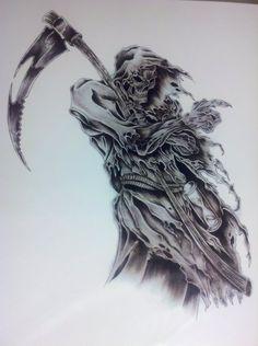 Grim Reaper by captaincorpse666
