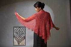 Ravelry: Dahlia Shawl pattern by Lisa Naskrent