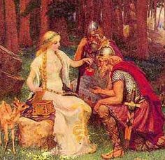 Iduna, Norse goddess of youth and apples.
