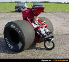 Futuro campeón de Formula 1.
