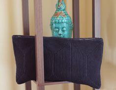 Vintage Purse   1930s Art Deco Crochet Bag   Cocktail Bag Large Clutch