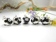Cute Sheep Stitch Markers (Set of 5) polymer clay knit knitting stitch markers sheep charms by beadpassion on Etsy https://www.etsy.com/listing/120651935/cute-sheep-stitch-markers-set-of-5