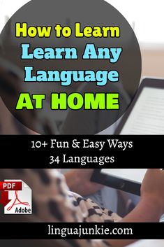 Here's how to learn a language at home: online programs, audio lessons, tutors, textbooks. You'll discover some of the BEST ways to learn a new language. Improve Speaking Skills, Learn Polish, Real Teacher, Polish Language, Foreign Words, Korean Phrases, Common Phrases, Learn Hebrew, Online Tutoring