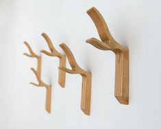 Modern Coat Hook Twig Wall Hook  Twiggy series di StudioLiscious, $19.00