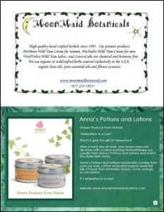 IBN's 2012 Handmade Holiday Gift Guide: MoonMaid Botanicals, Anna's Potions and Lotions Holiday Gift Guide, Holiday Gifts, Handmade Soaps, Lotions, Herbalism, Anna, Christmas, Xmas Gifts, Herbal Medicine