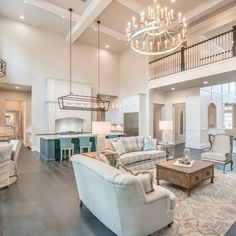 I love just about everything about this home design and tour by Crimson Design & Remodeling — Interior Designer in The Woodlands, Austin… Dream Home Design, My Dream Home, Home Interior Design, House Design, Dream Rooms, House Rooms, Luxury Homes, Beautiful Homes, Living Room Decor