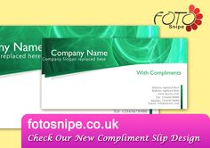 Compliment Slips  Stationery Templates    Compliments