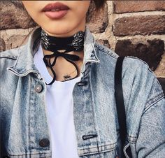 Shop our chokers and style them for the Fall #anarchystreet