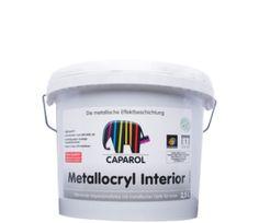 Metallocryl, metallic, väggfärg, metallisk väggfärg, metallicfärg för väggar, silver, koppar, guld, brons, caparol