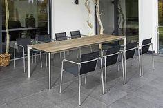 Taku stoel + swing tafel