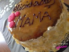 Tarta de San Marcos, rellena de nata y trufa Flan, Chocolate, Pancakes, Muffin, Pie, Breakfast, Desserts, Dessert Recipes, Crack Cake