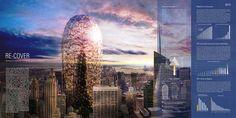 Sustainable Skyscraper Enclosure- eVolo   Architecture Magazine