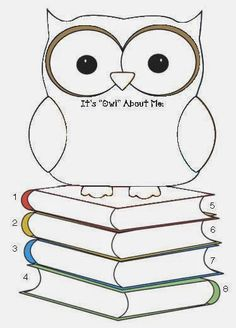 """Classroom Freebies: It's """"Owl"""" About Me Back To School Icebreaker                                                                                                                                                     More"""