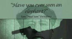 Words of wisdom from a psyhco! Sam DeStefano. (Ross Stanger)