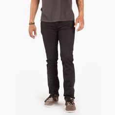 Osloh Traffic Jean is a modern jean with a slim fit that offers bicyclists the best features available in a 5-pocket style that moves effortlessly from the bike to the destination.