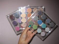 makeMeup: CD eyeshadow palette