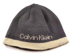 80735ada2f54d Calvin Klein Basic Brown Light Casual Men s Women s Winter Beanie Hat - See  more