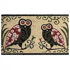 My adorable owl rug from Pier1. It makes me smile every time I walk in or out my front door:)