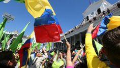 La Plaza Grande se llena con ecuatorianos de todos los rincones del país   ElCiudadano.gob.ec