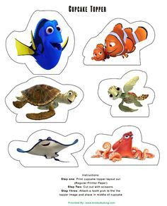 http://www.mrskathyking.com/free-printable-finding-dory-birthday-party-decorations-findingdory/                                                                                                                                                                                 More