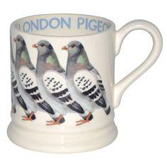 Emma Bridgewater London Pigeon 1/2 Pint Mug