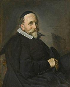 Frans Hals, Portrait of a Man, possibly Willem van Warmondt, 1640. Frans Hals Museum #haarlem