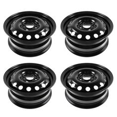 auto-parts-general: 15 inch Steel Replacement Wheel Rim New SET of 4 for Ford Focus Fiesta #motor - 15 inch Steel Replacement Wheel Rim New SET of 4 for Ford Focus Fiesta...